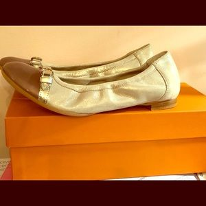 NWT Made in Italy leather ballet flats